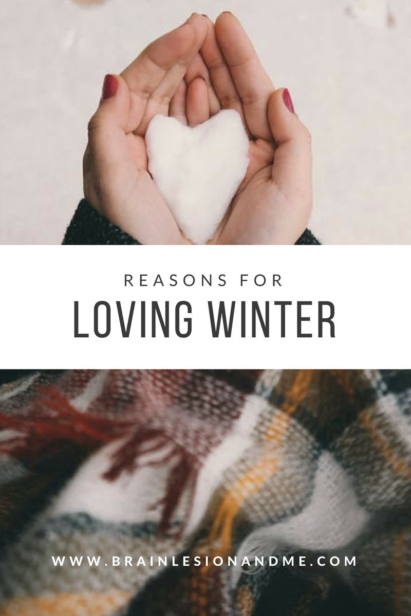 Reasons For Loving Winter My Brain Lesion And Me