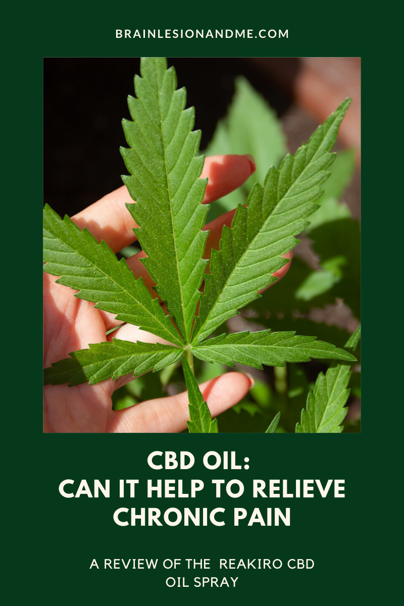 CBD Oil: Can It Help Relieve Chronic Pain?