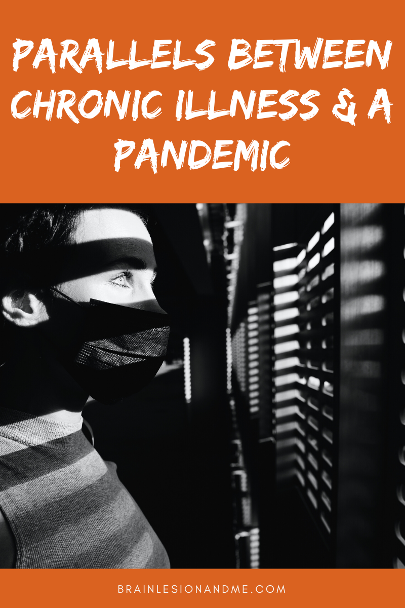 Parallels between chronic illness and a pandemic